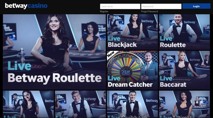 Betway Casino Games