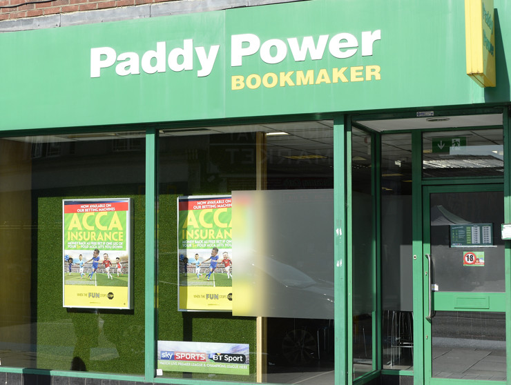 Paddy Power High Street Betting Shop