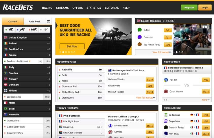 Racebets Screenshot