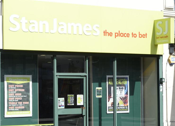 Stan James High Street Betting Shop