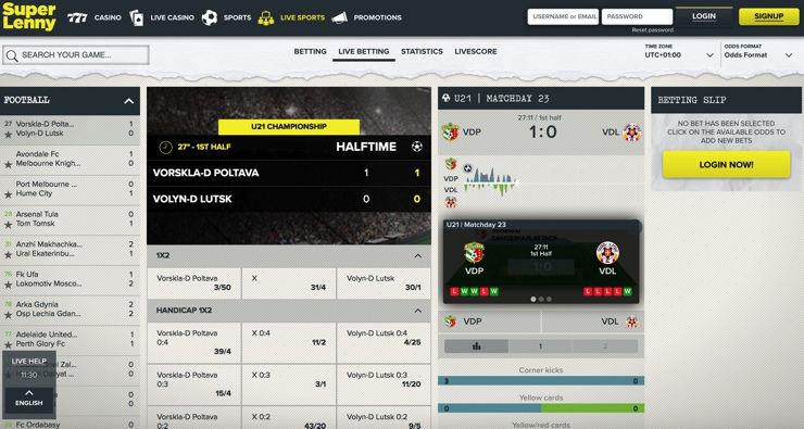 Super Lenny Features Screenshot