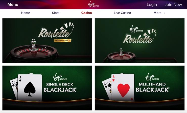 Virgin Games Casino